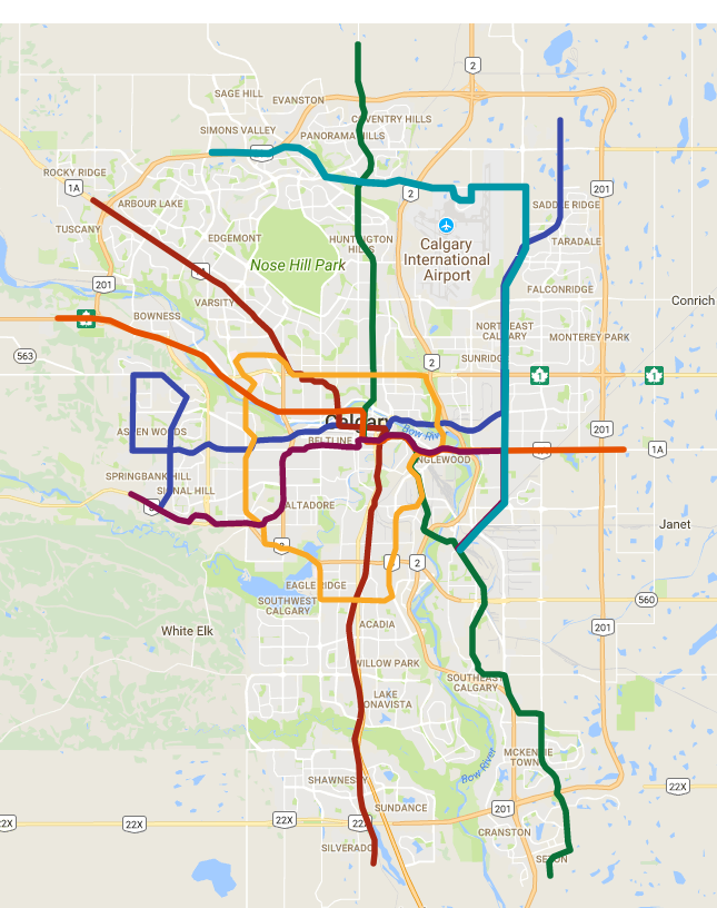 Calgary Transit Fantasy Maps | Page 2 | SkyriseCities on